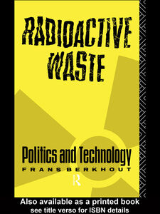 Ebook in inglese Radioactive Waste Berkhout, Frans