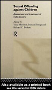 Foto Cover di Sexual Offending Against Children, Ebook inglese di AA.VV edito da