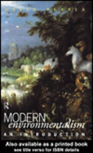 Ebook in inglese Modern Environmentalism Pepper, David