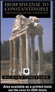 Ebook in inglese From Mycenae to Constantinople Tomlinson, Richard A.