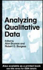 Ebook in inglese Analyzing Qualitative Data