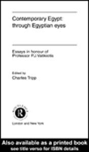 Ebook in inglese Contemporary Egypt: Through Egyptian Eyes