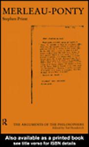Ebook in inglese Merleau-Ponty Priest, Stephen