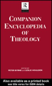 Ebook in inglese Companion Encyclopedia of Theology
