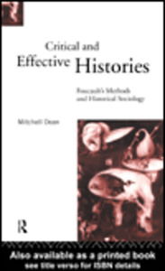 Ebook in inglese Critical And Effective Histories Dean, Mitchell
