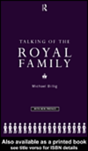 Ebook in inglese Talking of the Royal Family Billig, Michael