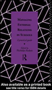 Ebook in inglese Managing External Relations in Schools
