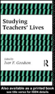 Foto Cover di Studying Teachers' Lives, Ebook inglese di I Goodison, edito da