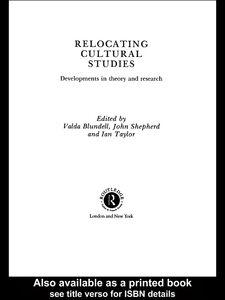 Foto Cover di Relocating Cultural Studies, Ebook inglese di AA.VV edito da