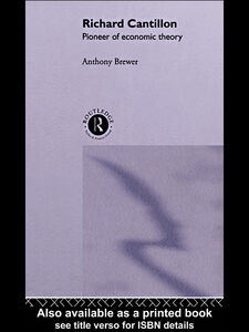 Ebook in inglese Richard Cantillon Brewer, Anthony