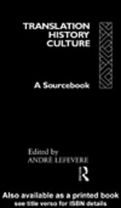 Ebook in inglese Translation/History/Culture