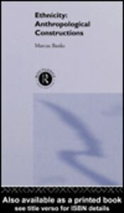 Ebook in inglese Ethnicity Banks, Marcus
