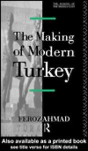Foto Cover di The Making of Modern Turkey, Ebook inglese di Feroz Ahmad, edito da