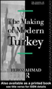 Ebook in inglese The Making of Modern Turkey Ahmad, Feroz