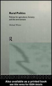 Foto Cover di Rural Politics, Ebook inglese di Michael Winter, edito da