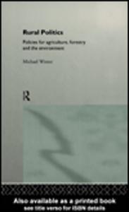 Ebook in inglese Rural Politics Winter, Michael