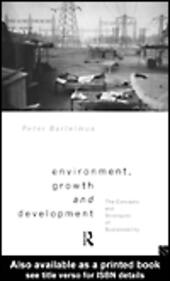Environment, Growth and Development