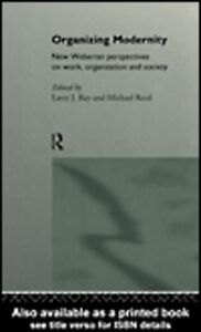 Ebook in inglese Organizing Modernity