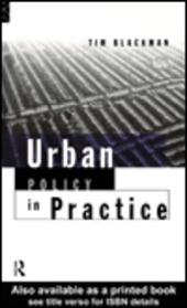 Urban Policy in Practice