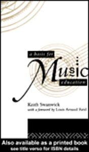 Ebook in inglese A Basis for Music Education Swanwick, Keith