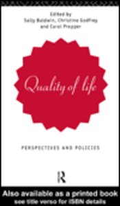 Ebook in inglese Quality of Life
