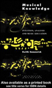 Ebook in inglese Musical Knowledge Swanwick, Keith