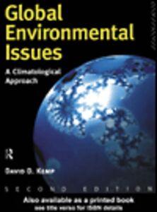 Ebook in inglese Global Environmental Issues Kemp, David
