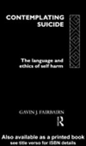 Ebook in inglese Contemplating Suicide Fairbairn, Gavin