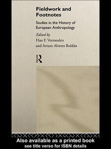 Foto Cover di Fieldwork and Footnotes, Ebook inglese di Arturo Alvarez Roldan,Han Vermeulen, edito da