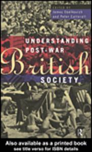 Ebook in inglese Understanding Post-War British Society