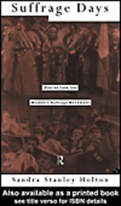 Ebook in inglese Suffrage Days Holton, Stanley
