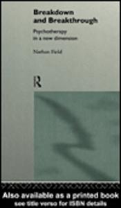 Ebook in inglese Breakdown and Breakthrough Field, Nathan