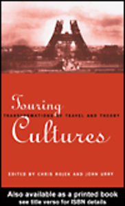 Ebook in inglese Touring Cultures