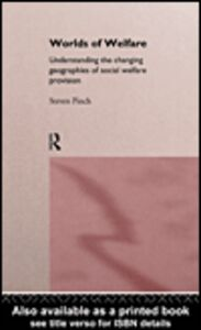Foto Cover di Worlds of Welfare, Ebook inglese di Steven P. Pinch, edito da
