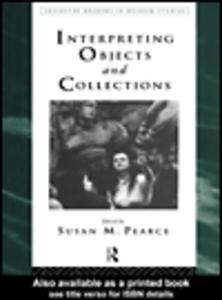 Ebook in inglese Interpreting Objects and Collections