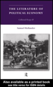 Ebook in inglese The Literature of Political Economy Hollander, Samuel