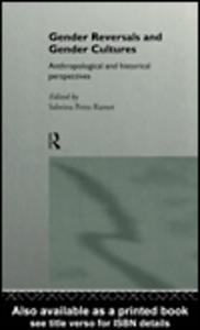 Ebook in inglese Gender Reversals and Gender Cultures