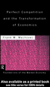 Ebook in inglese Perfect Competition and the Transformation of Economics Machovec, Frank M.