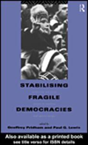 Ebook in inglese Stabilising Fragile Democracies