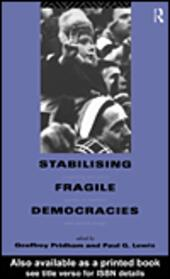 Stabilising Fragile Democracies