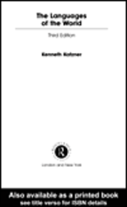 Ebook in inglese The Languages of the World Katzner, Kenneth