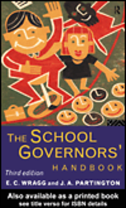Ebook in inglese The School Governors' Handbook Partington, J. A. , Wragg, E. C.