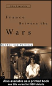 Ebook in inglese France Between the Wars Reynolds, Sian