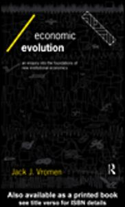 Ebook in inglese Economic Evolution Vromen, Jack