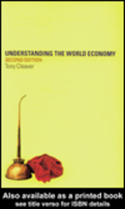 Ebook in inglese Understanding the World Economy Cleaver, Tony