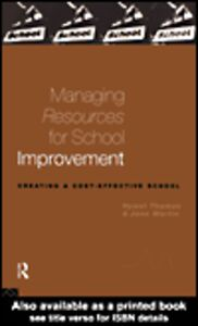 Ebook in inglese Managing Resources for School Improvement Martin, Jane , Thomas, Hywel