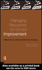 Managing Resources for School Improvement