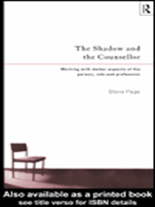 Ebook in inglese The Shadow and the Counsellor Page, Steve