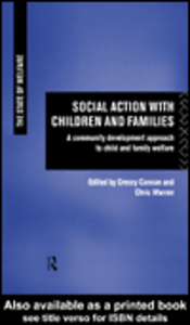 Ebook in inglese Social Action With Children & Families