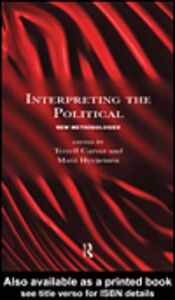 Ebook in inglese Interpreting the Political